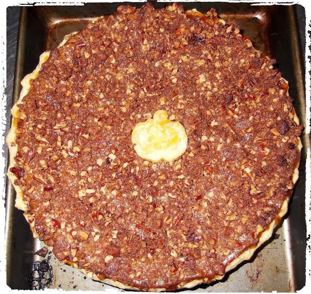 Rosie's Country Baking: Maple Pumpkin Pie with Pecan Streusel