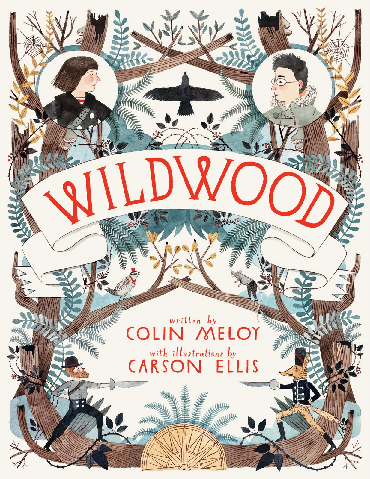 Wildwood Chronicles 1 Written By Colin Meloy With Illustrations Carson Ellis