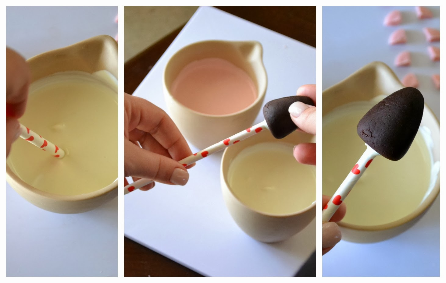 how to keep cake pops on the stick