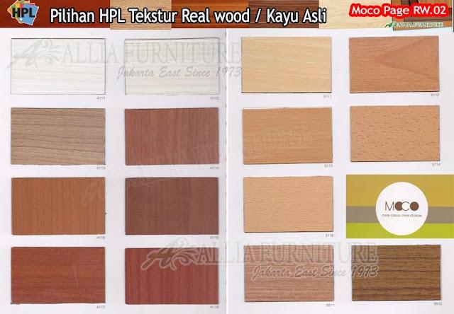 RW.02 HPL moco motif tekstur kayu asli