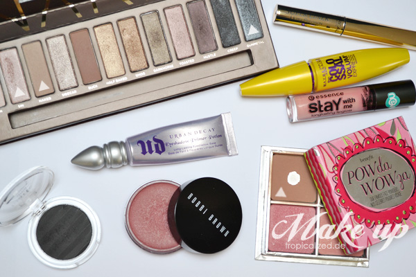 Make-up Jahres Favoriten 2012