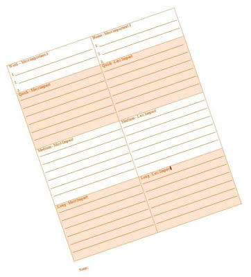 daily planner efficient time organization