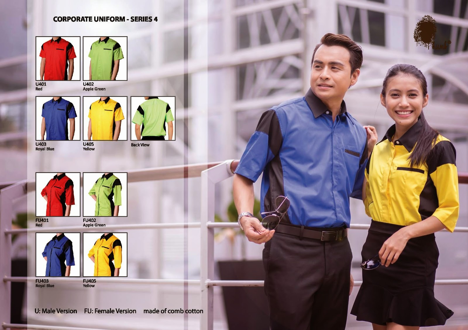 THUMB CORPORATE UNIFORM - SERIES 04