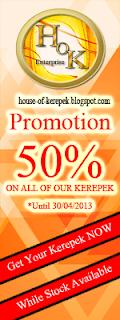 Promosi House of Kerepek