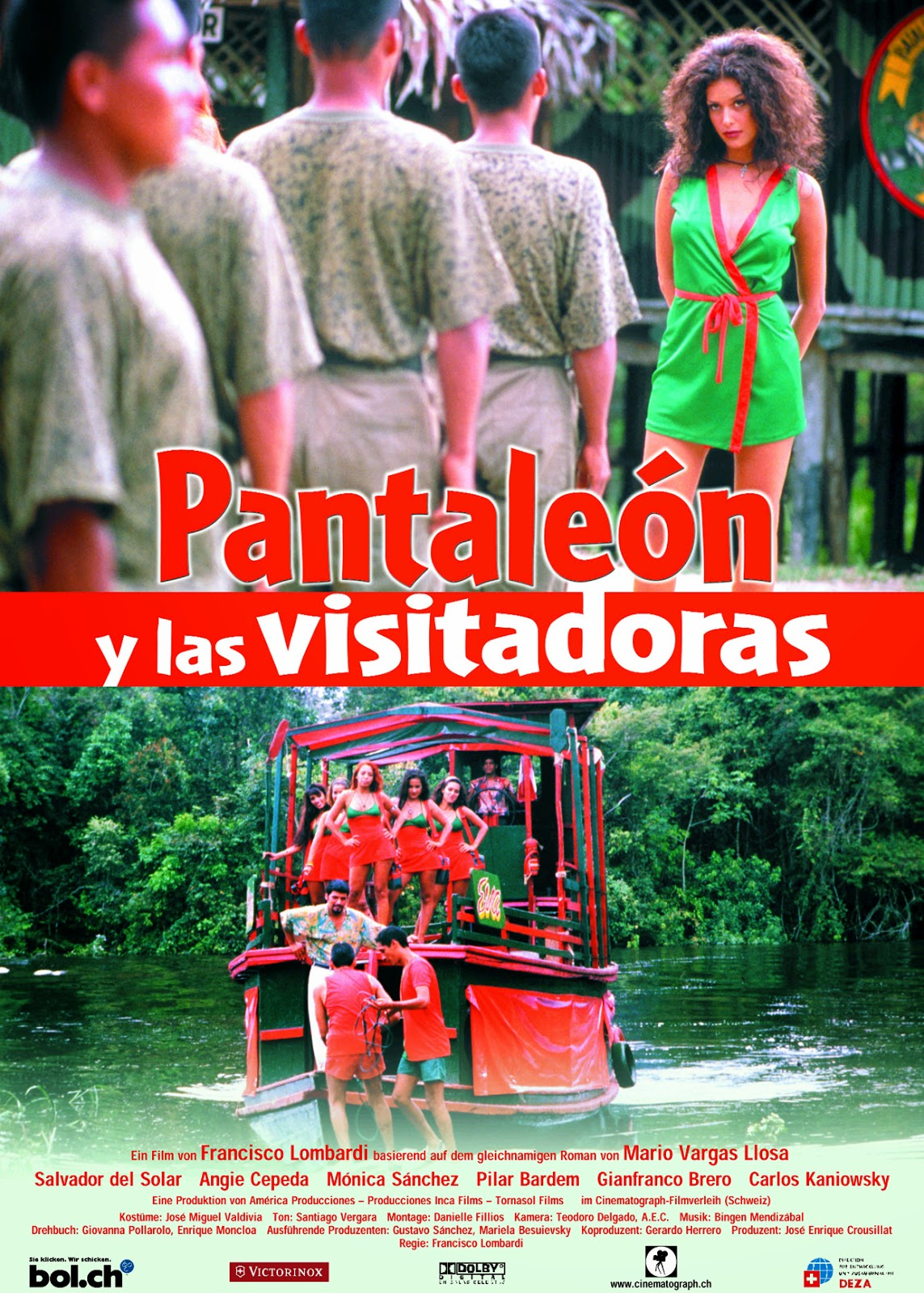 Imagen Pantaleón y las visitadoras