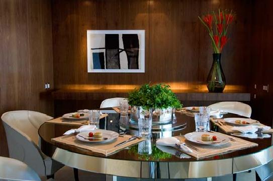 Sala De Jantar Redonda ~  seguir 10 salas de jantar e ambientes em que a mesa redonda aparece
