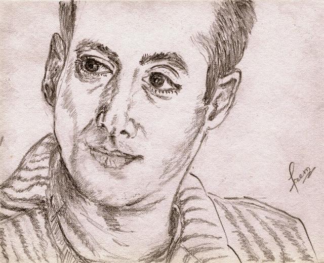 Sketch of Salman Khan