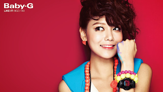 "[Wallpaper] Sooyoung Casio ""Baby-G"" Wallpaper"