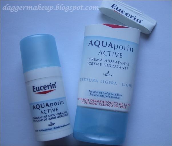 Hidratante light y contorno de ojos Aquaporin Active de Eucerin