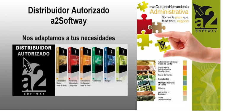 A2SOFTWAY,CONTABILIDAD,SOFTWARE ADMINISTRATIVO,NOMINA