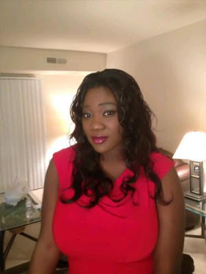 mercy johnson post baby body
