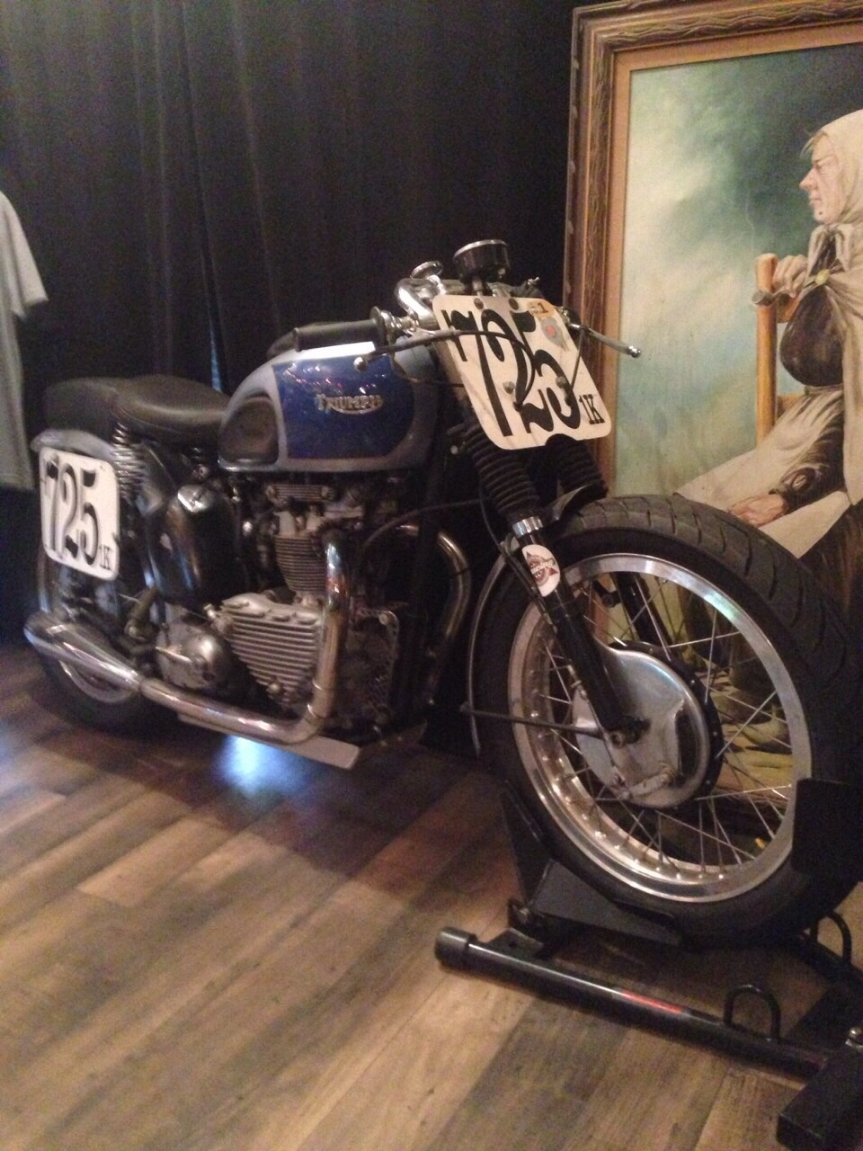 TRIUMPH 1951 T100R