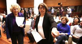 Carmena quiere reducir el tráfico privado en 22 ejes estratégicos de Madrid