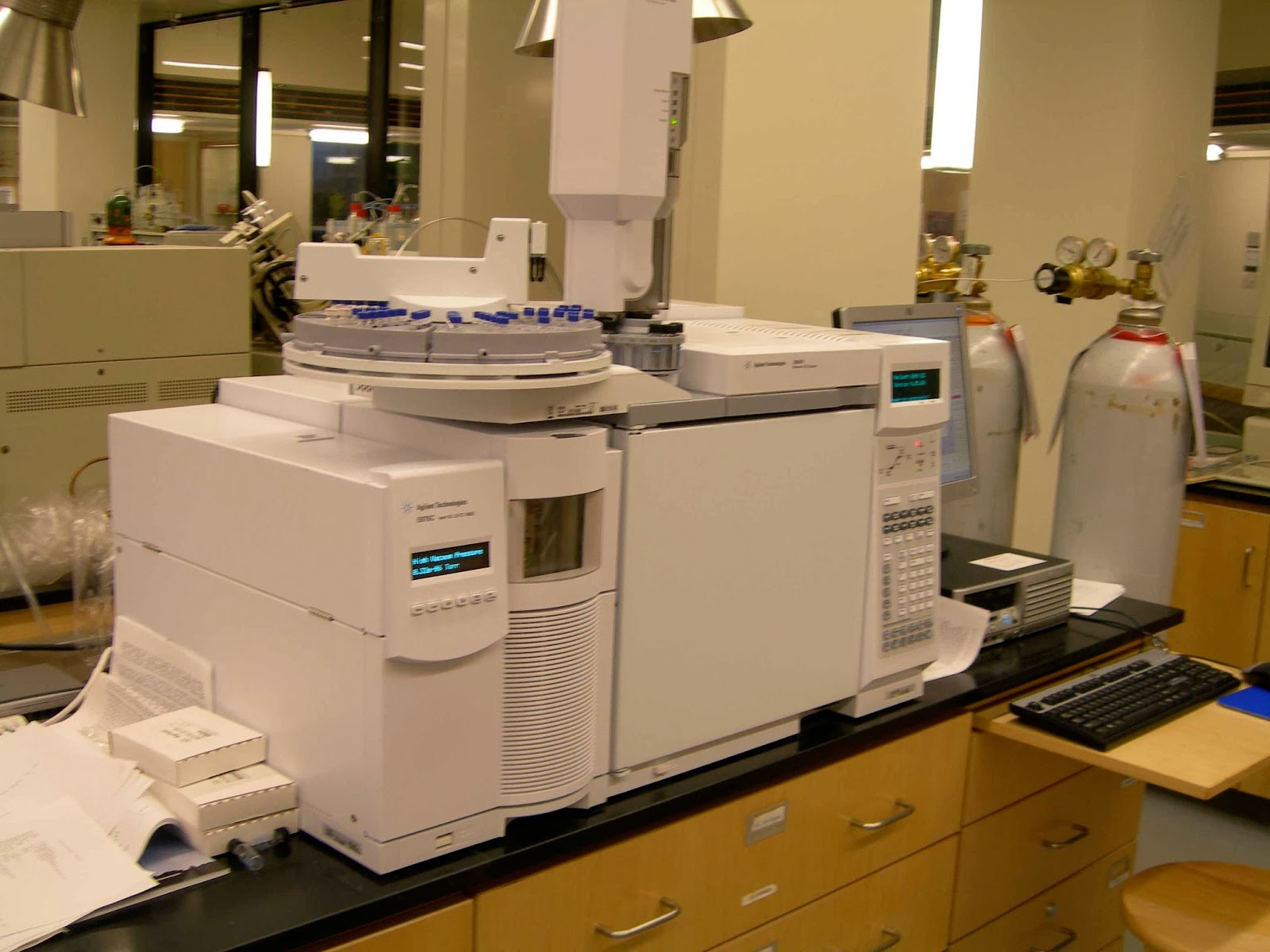 gas chromatography Gas chromatography (gc) this method depends upon the solubility and boiling points of organic liquids in order to separate them from a mixture it is both a qualitative (identity) and quantitative (how much of each) tool.