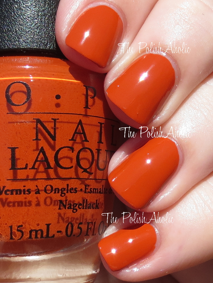 dark orange nail polish - 720×956