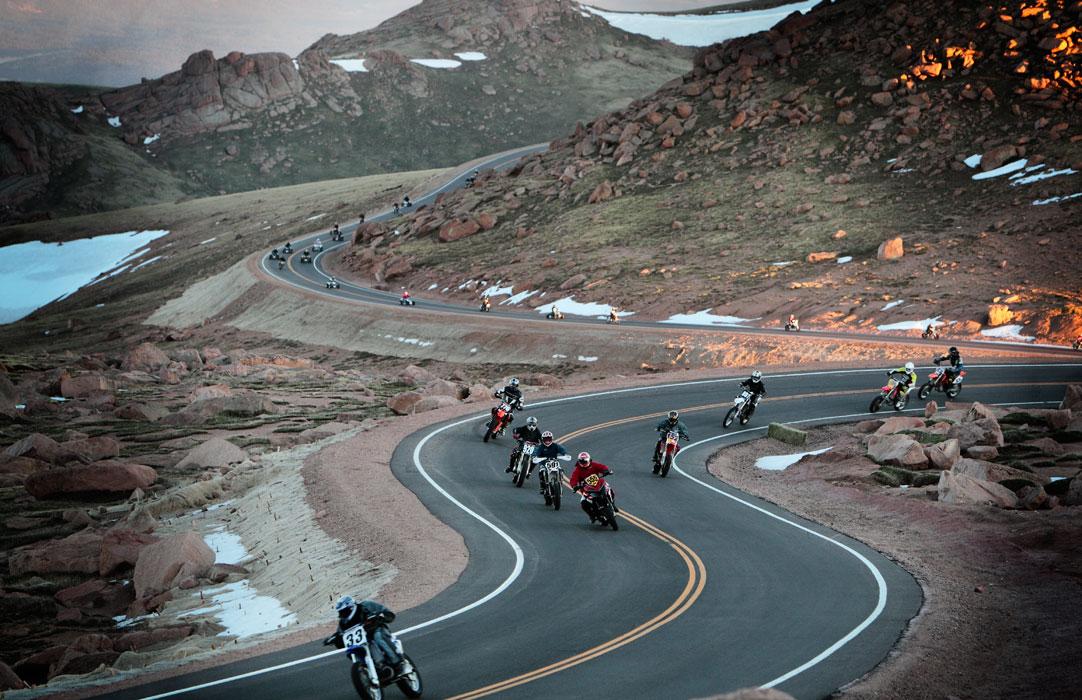 Pikes Peak By Adam Ewing Inazuma Caf 233 Racer