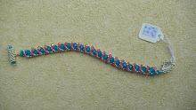 Alcian Blue Bracelet