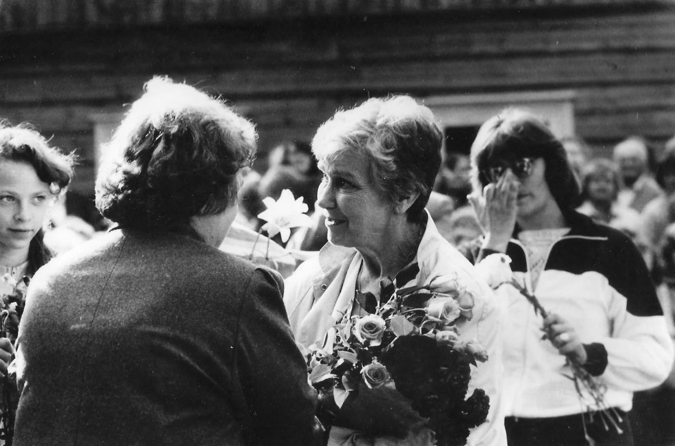 Alfrēda Amtmaņa-Briedīša muzejā 1987. gada 5. augustā - 4