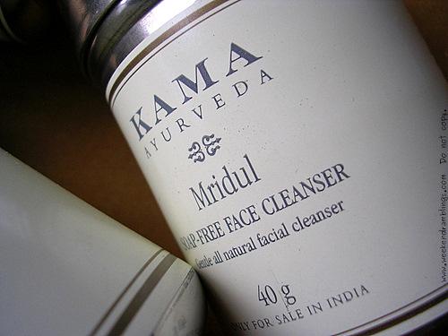 Kama Ayurveda Mridul Gentle Facial Cleanser Scrub Reviews Ingredients