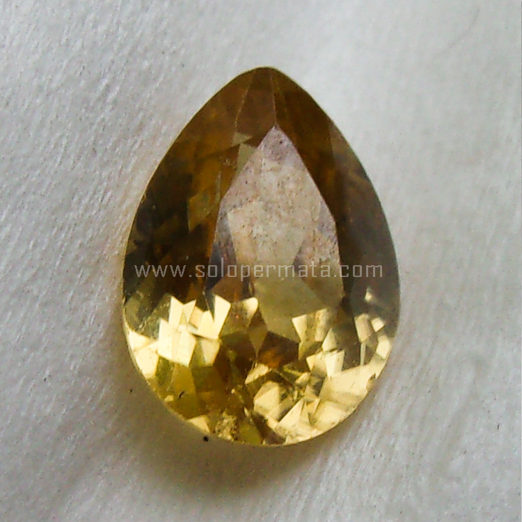 Batu Permata Yellow Citrine - SP928