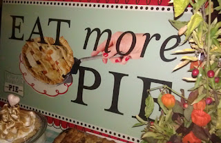 "High 5 Pie ""Eat More Pie"" Sign"