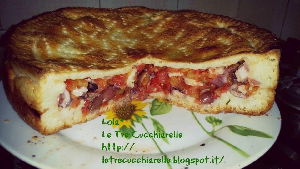 tiella di polpo - piatto tipico gaetano- di zio gianfranco!