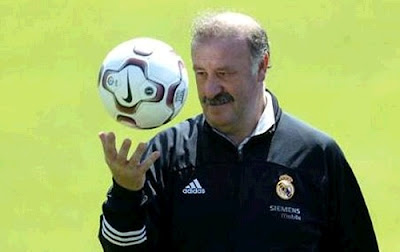 Vicente Del Bosque Coach Real Madrid