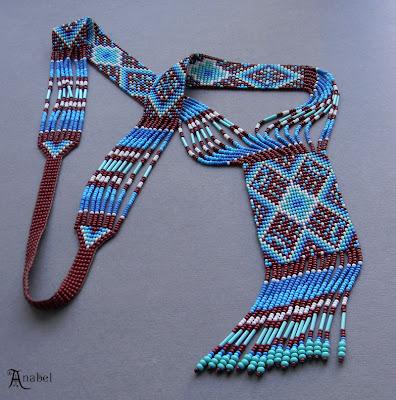 купить гердан этно украшения из бисера гайтан колье украина