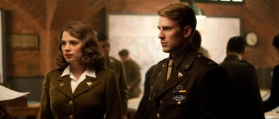Captain America : First Avenger, Steve Rogers (Captain America) et Peggy Carter