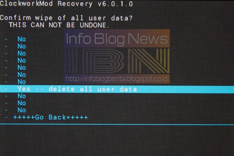 Как сделать wipe data factory reset