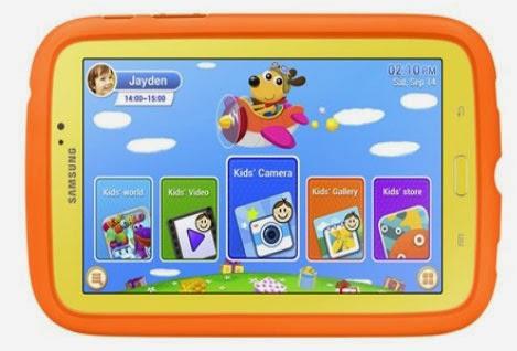 Samsung Galaxy Tab 3 Kids, Tablet Murah Untuk Anak-Anak