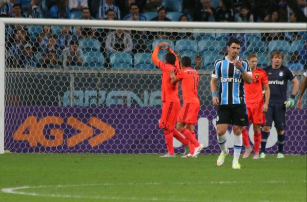 Em noite inspirada de Danilo Fernandes, Grêmio e Sport empatam