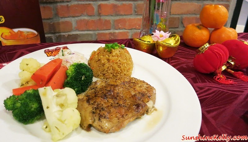 Cherish Your Makan Time, Kenny Cherish meal, Kenny Rogers Roasters, KRR's, Black pepper chicken, souperior, spicy golden rice