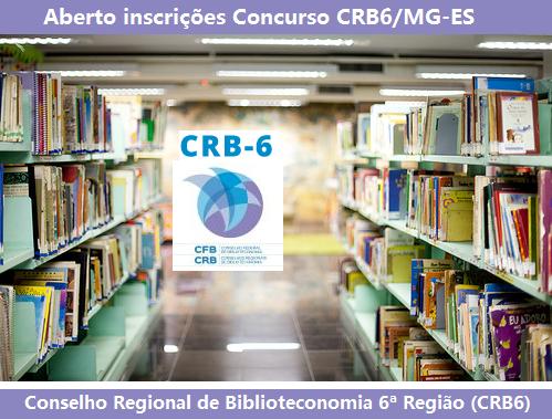 Apostila concurso CRB6 Região MG 2016 - Auxiliar Administrativo