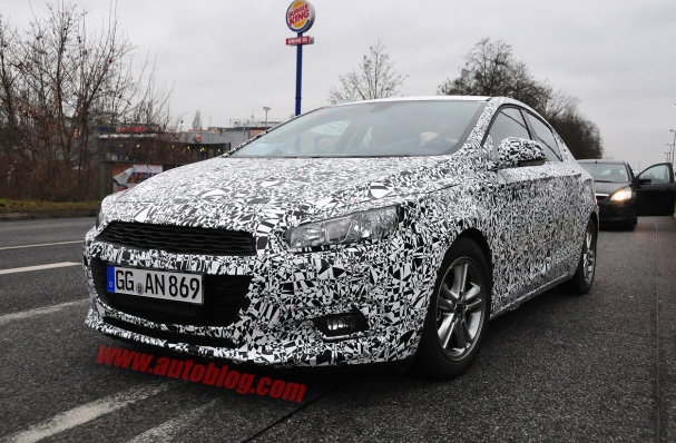 2015 Chevrolet Cruze Spy Shots
