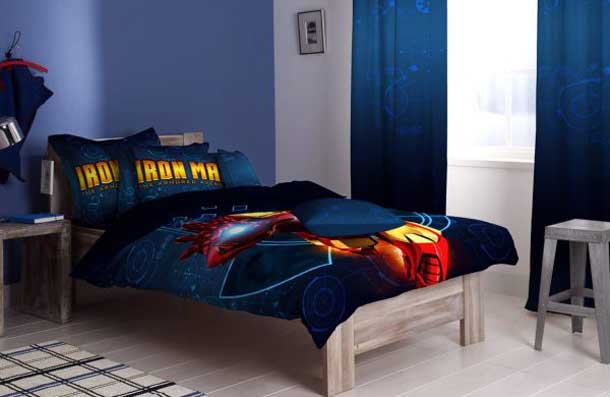 Superhero Bedding Theme For Boys Bedroom