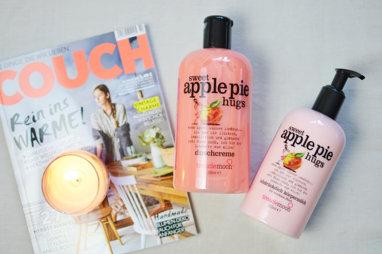 Treaclemoon_Duschgel_Bodylotion_Sweet_Applepie_Hugs_Couch_Magazin_ViktoriaSarina