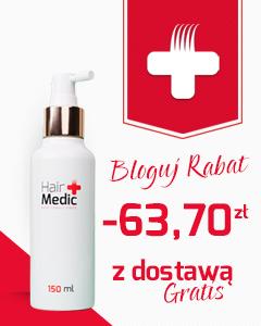 HAIR MEDIC - ratunek dla wypadających włosów - Rabat oraz darmowa dostawa przy zakupie przez baner