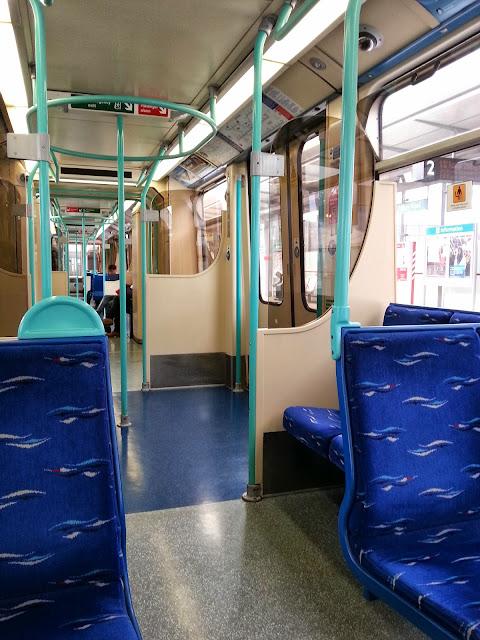 Лондон+поезд DLR