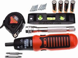 Black & Decker AS600P-KR Power & Hand Tool Kit (20 Tools)