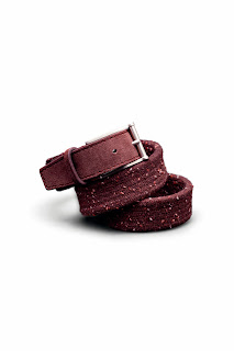 Men Accesories -  Leather and canvas Belts