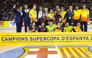 HOCKEY PATINES-El Barça imparable en la Supercopa