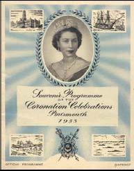 Portsmouth Coronation Programme