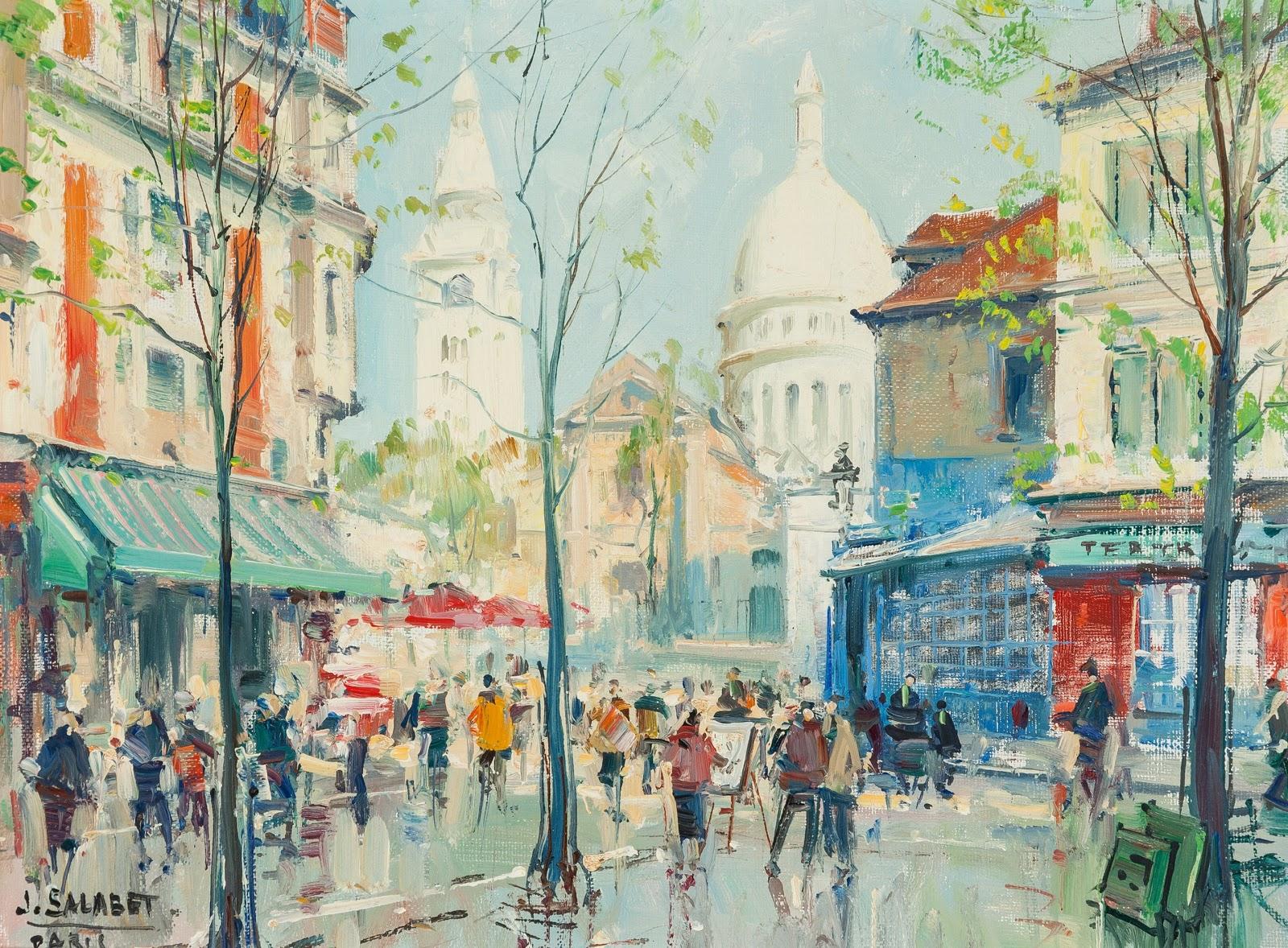 Jean Salabet Sunny Day in Paris