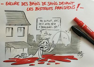 C'est mon côté banane... #AttentatParis #Beaujolais #BeaujolaisNouveau