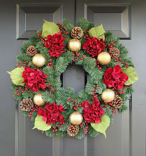 Christmas or advent wreaths