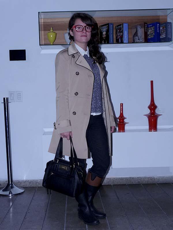 street style - como una aparicion - trench coat