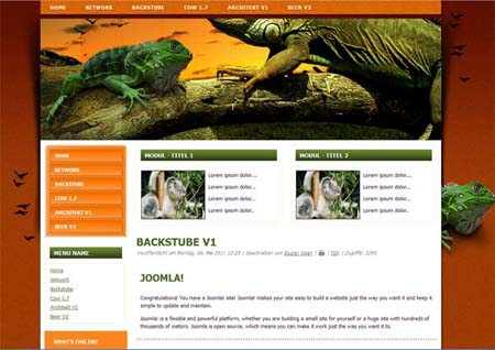 Echse Joomla 2.5 - 1.7 Template (from:pc-didi.at)