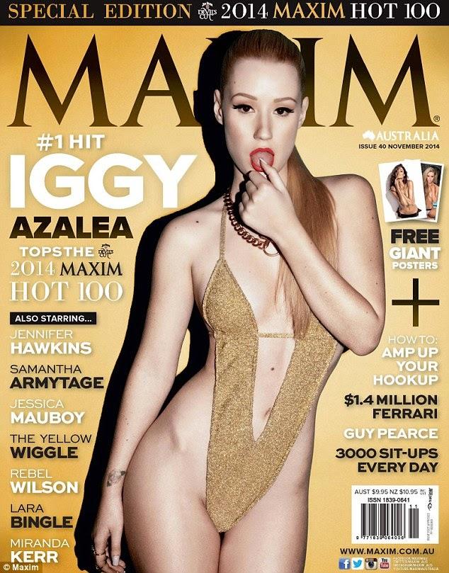المغنية الاسترالية إيجي أزاليا ضمن قائمة النساء الأكثر إثارة بحسب مجلة مكسيم