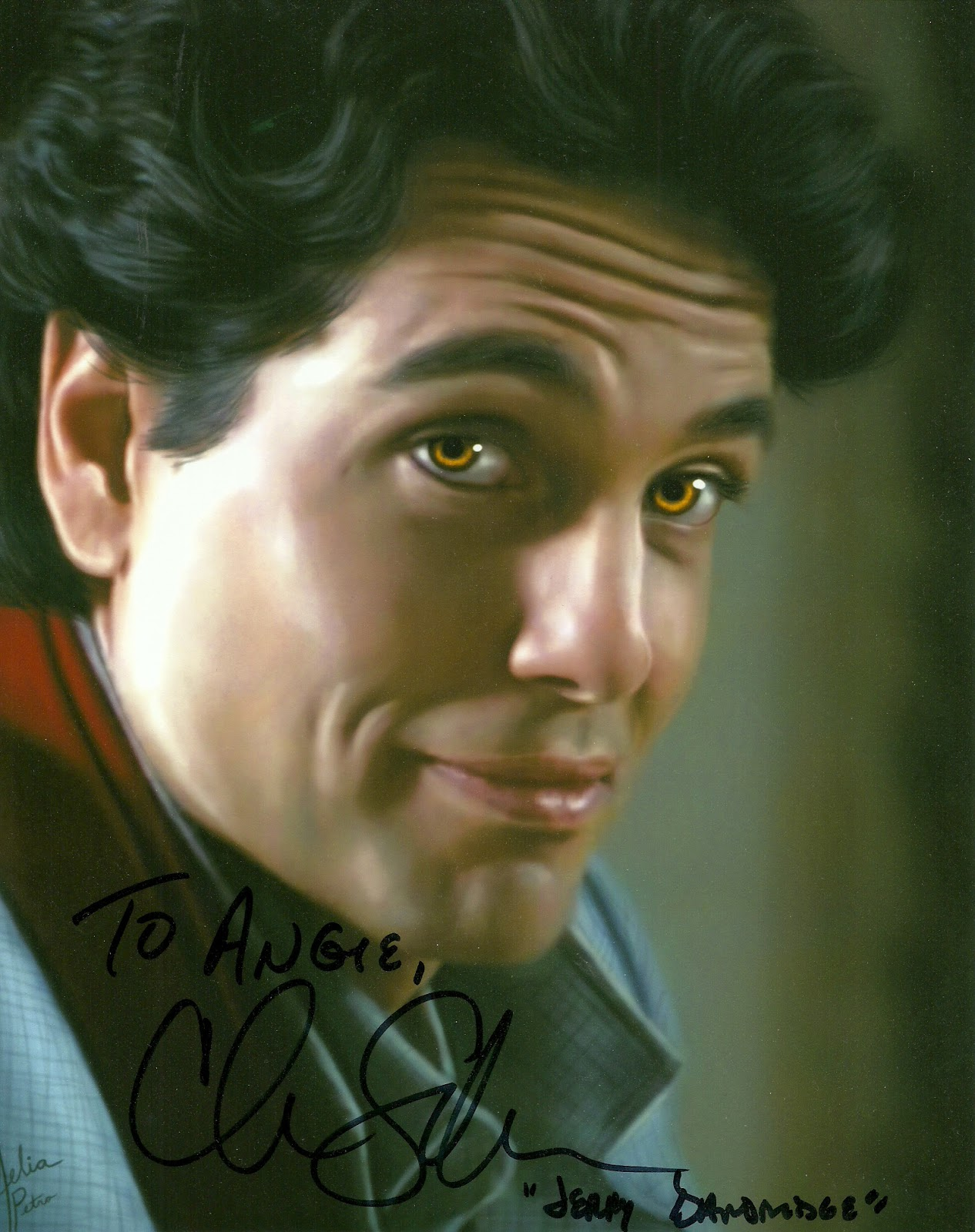 Angie's Autograph Successes: In-person: Chris Sarandon